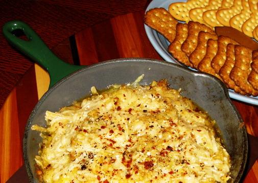 Hot Artichoke Dip. Hot Artichoke Parmesan