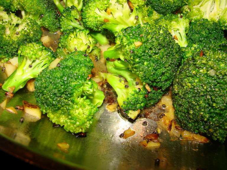Tigers Strawberries From India S Vegetarian Cooking Broccoli