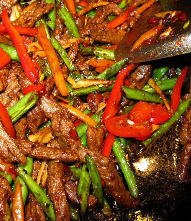 dry fried green beans szechuan dry fried green beans sichuan dry fried ...