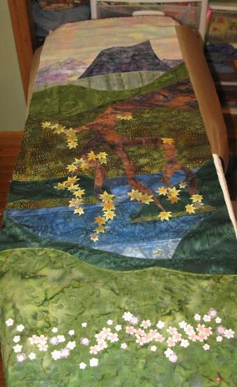 My first landscape quilt