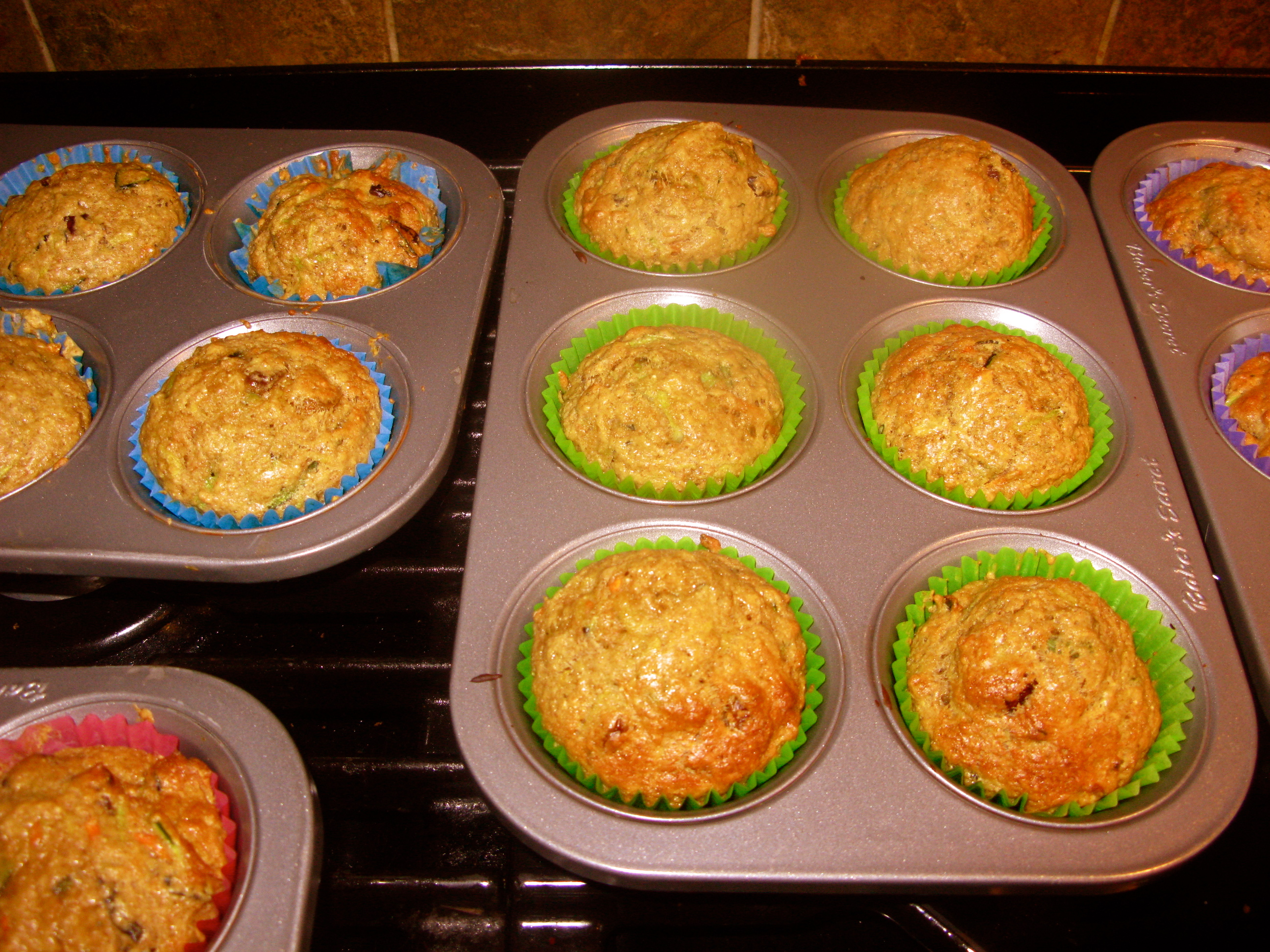 tigers & strawberries » zucchini-carrot muffins: a perfect